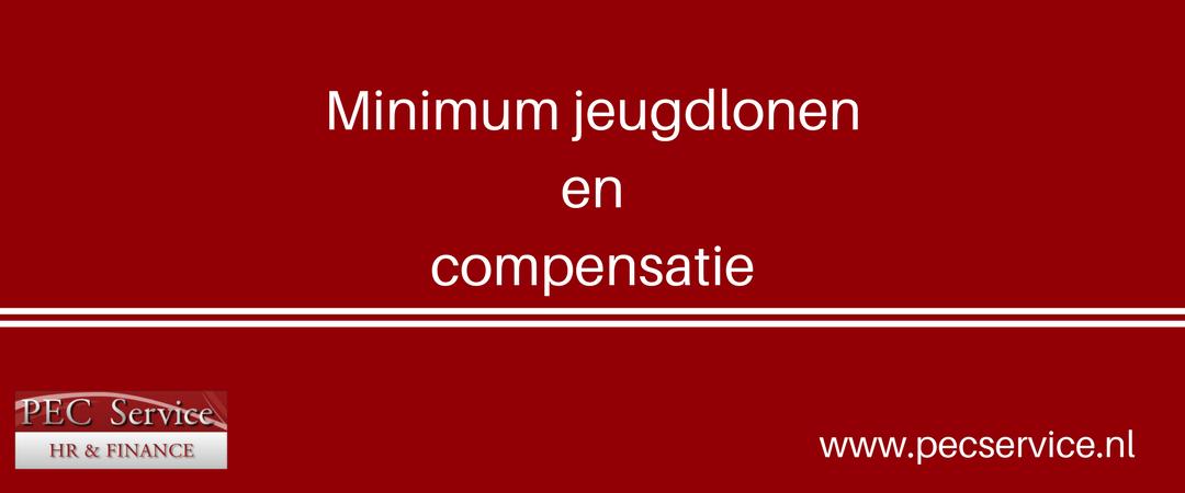 Minimum jeugdlonen en compensatie